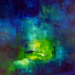 DORT WO LICHT IST, LASS MICH WOHNEN. LET ME LIVE WHERE THERE IS LIGHT. 2013. 150 x 120 cm. oil/acrylic on canvas