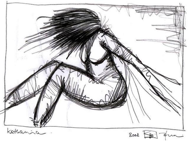 KATHARINA. 2008. graphite on paper. 33 x 24 cm