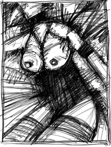 ES BEDEUTET NICHTS. IT DOESN'T MATTER. 2007. graphite on paper. 33 x 24 cm