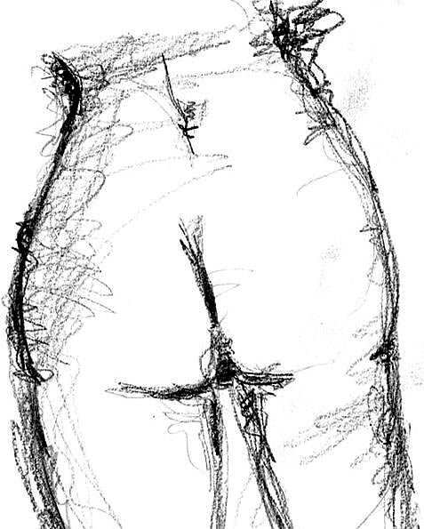 HORIZONTE. HORIZONS. 2006. graphite on paper. 30 x 21 cm