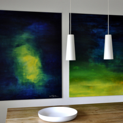 WHERE THERE IS LIGHT. 2021. 150 x 120 cm