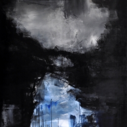 SKYLLA. 2016. left part of the diptych. 150 x 120 cm
