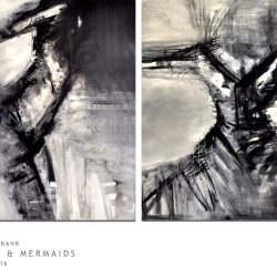 ANGELS & MERMAIDS. diptych 2016. 210 x 120 cm