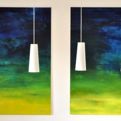 WHAT IF I FELL IN LOVE WITH YOU. diptych 2020. 260 x 150 cm