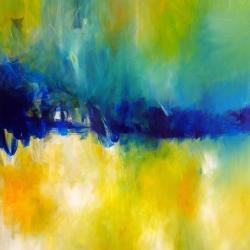 STILL WATERS RUN DEEP. 2010. 120 x 100 cm