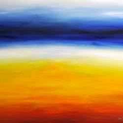DAYDREAMING OF AN ENDLESS SUMMER. 2019. 150 x 120 cm