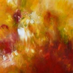 AUS DER ENTFERNUNG ERSCHEINST DU MIR HELLER ALS DAS JULILICHT . FROM A DISTANCE YOU APPEAR BRIGHTER THAN THE LIGHT IN JULY. 2010. acrylic/oil on canvas. 120 x 100 cm