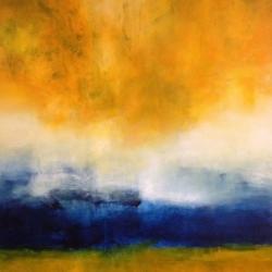 TRUE AT FIRST LIGHT. DIE WAHRHEIT IM MORGENLICHT. 150 x 120 cm. 2015. acrylic and oil on canvas