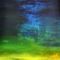 I WOKE TO THE SOUND OF RAIN II. 2020. 150 x 120 cm