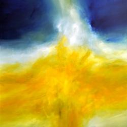 THE LIGHT BETWEEN THE OCEANS II. 2018. 150 x 120 cm