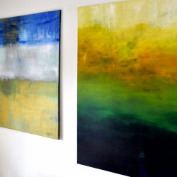 RETURNING TO GETHSEMANE. 2014. 130 x 130 cm