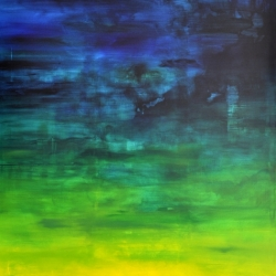 I WOKE TO THE SOUND OF RAIN I. 2020. 150 x 120 cm
