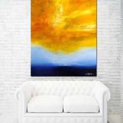 TRUE AT FIRST LIGHT II. 2016. 120 x 100 cm