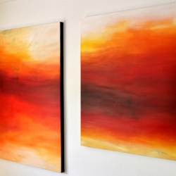 ONCE UPON A TIME (right). 2020. 120 x 100 cm