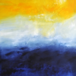 FROM ONE END OF THE WORLD TO THE OTHE. 2020. 150 x 120 cm