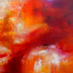 JUDITH & HOLOFERNES II. center part of the triptych. 2014. 150 x 120 cm