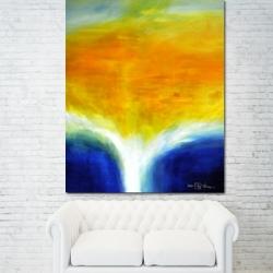 THE LIGHT BETWEEN THE OCEANS V. 2020. 120 x 100 cm