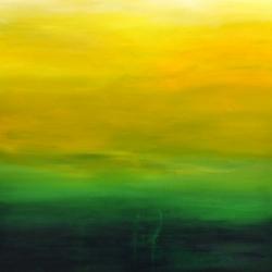 MOUNTAINS MUST FALL III. 2020. 100 x 80 cm