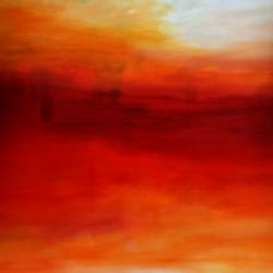 IN THE LIGHT OF THE VIRGIN MORNING. 2020. 150 x 120 cm