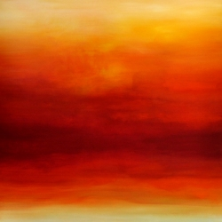 ON YOUR LAST BREATH BEFORE SUNSET, REMEMBER US. 2020. 150 x 120 cm