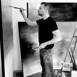 In the studio. April 2020